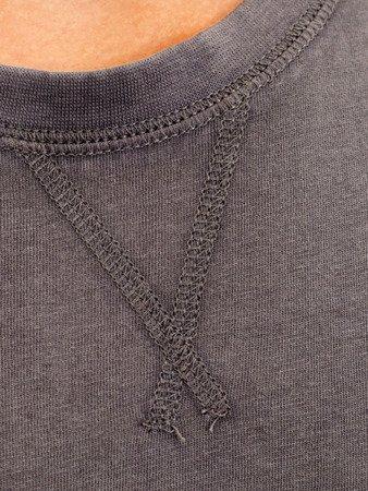 """LEONE - Tričko """"OLD"""" [LSM1512_stalowy]"""