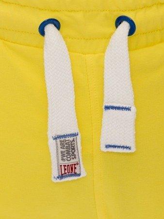 Pánské žluté bermudské kraťasy LEONE M [LSM1661]